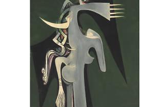 Wifredo Lam (1902-1982) Horse-Headed Woman 1950