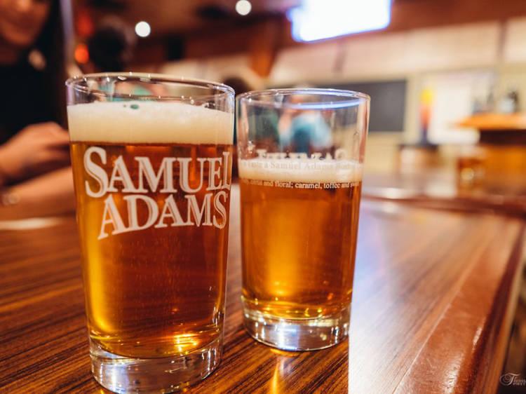 Take the Sam Adams Brewery Tour
