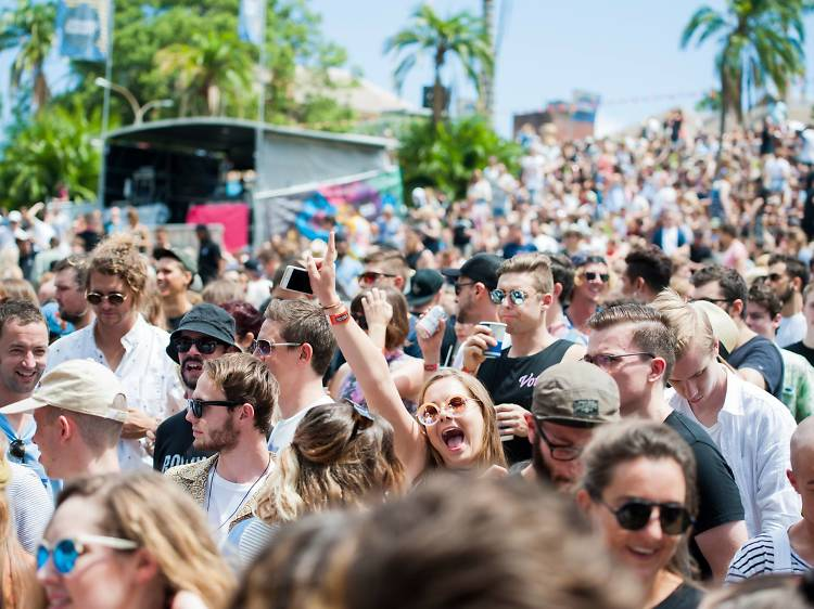 New Year's Day parties in Sydney