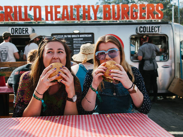 Win a Grill'd burger feast for you and two mates!