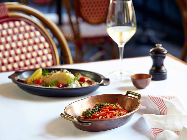 A three-course French lunch for just $45