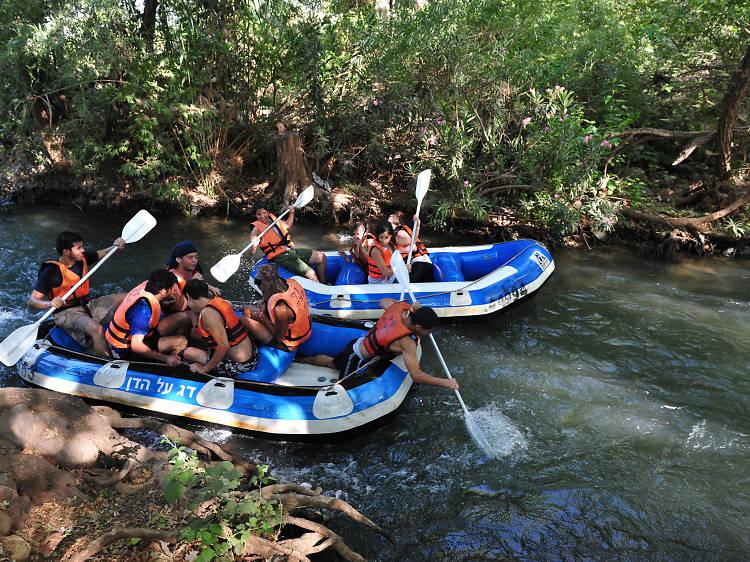 La rivière Dan: tubing, kayak et rafting en eau vive