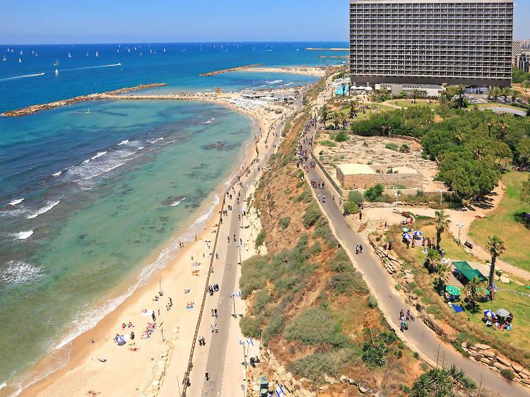 Stroll down the Tel Aviv Promenade