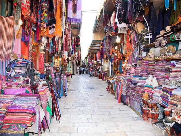 Le marché de la Vieille Ville - Souk Arabe