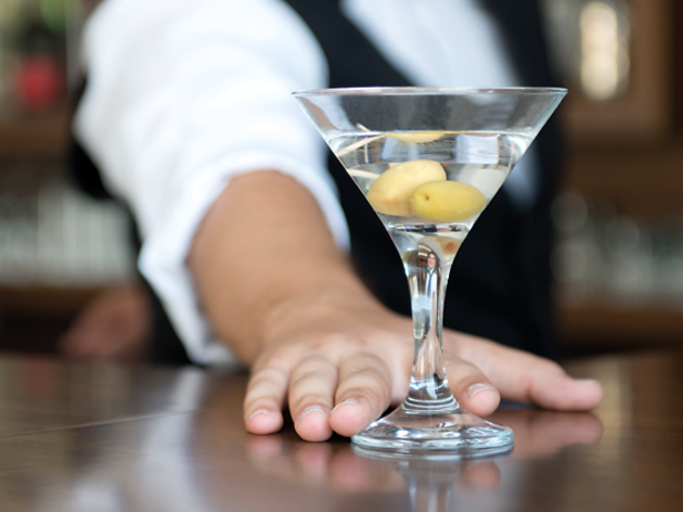 Martini, classic cocktail