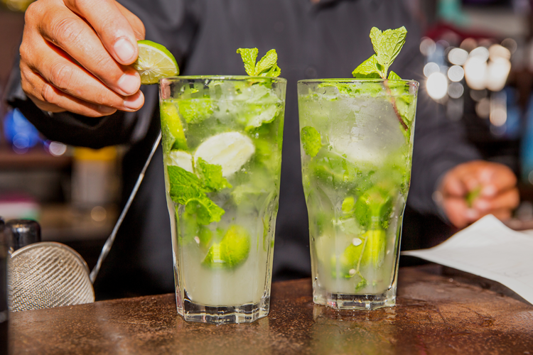 Mojito, classic cocktail
