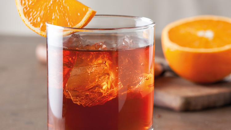 Negroni, classic cocktail