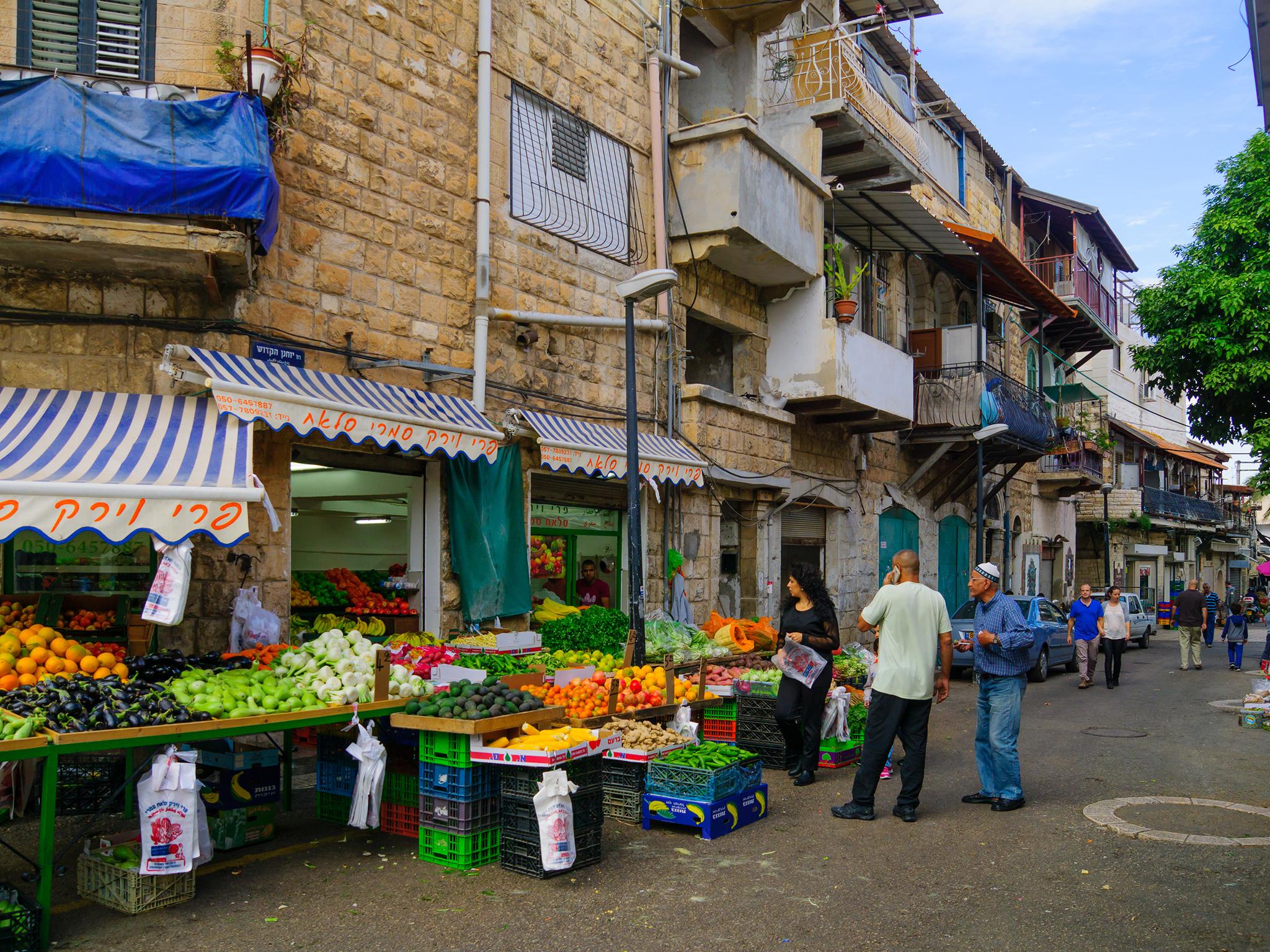 Wadi Nisnas market