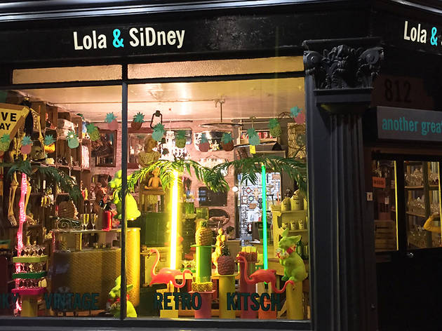 Lola & Sidney shop, 2016