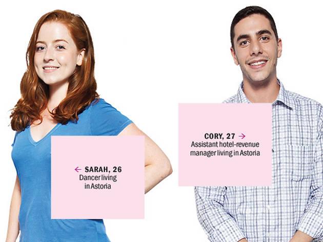 Sarah and Cory