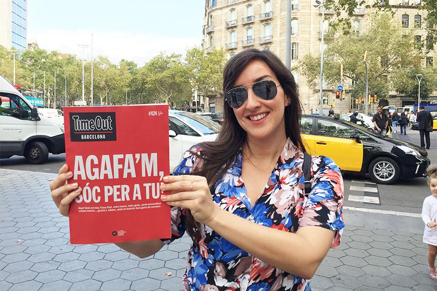 Time Out Barcelona surt al carrer