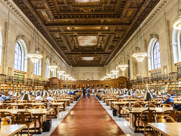 The New York Public Library's gorgeous Rose Reading Room is reopening after two years