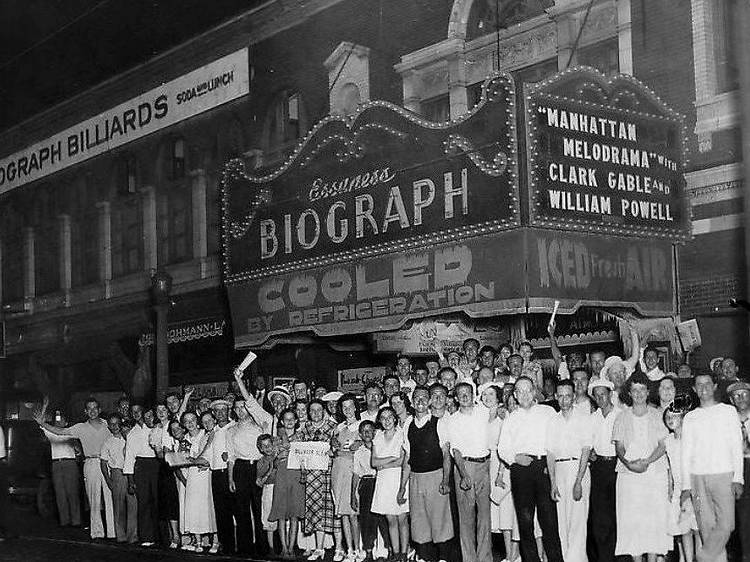 Biograph Theater Alley