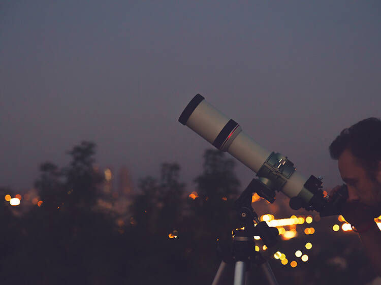Gaze at the stars and planets