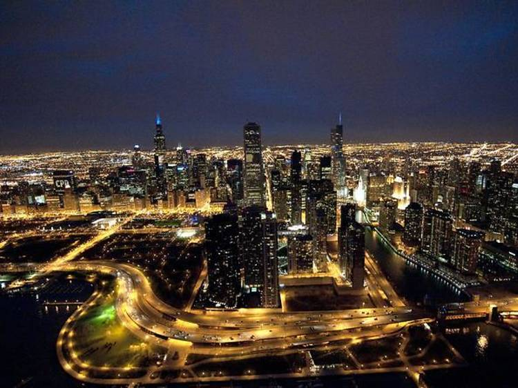 Vertiport Chicago: Chicago by Night Helicopter Tour