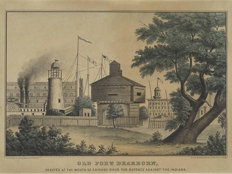 Battle of Fort Dearborn Park