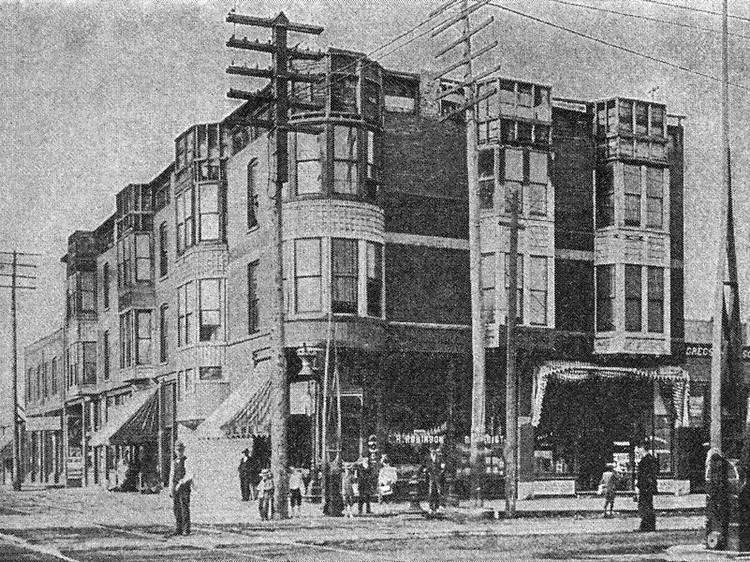 "H.H. Holmes's ""Murder Castle"" site"