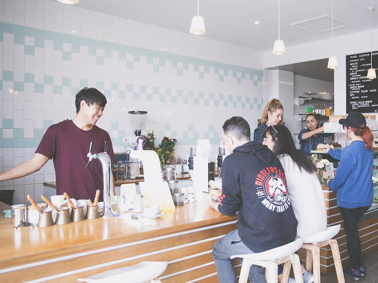 Pixel Coffee Brewers