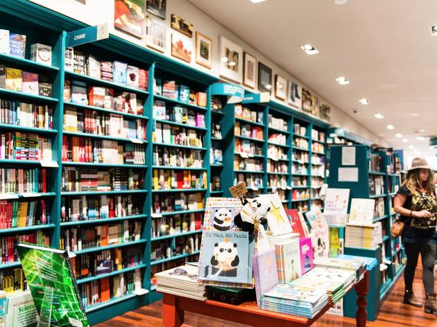 Bookshelves at Better Read Than Dead