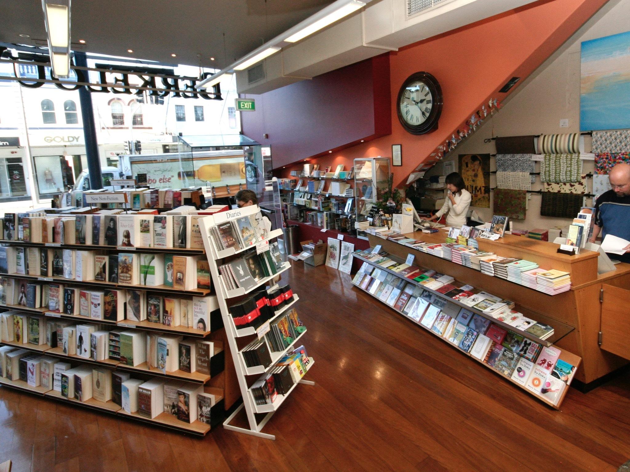 Interior at Berkelouw Books