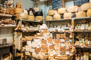 Cheese room at Fourth Village
