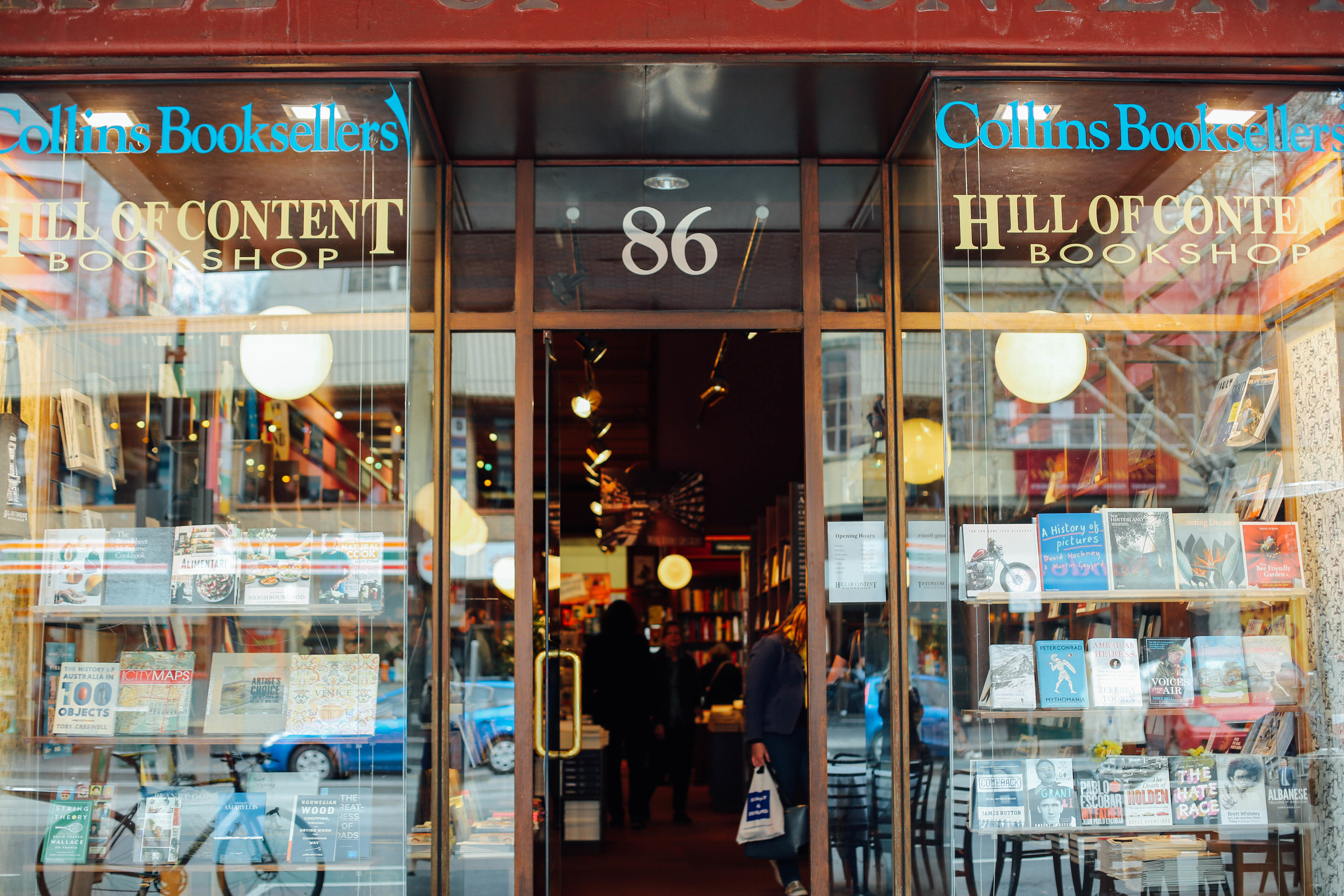 Melbourne's favourite local bookstores