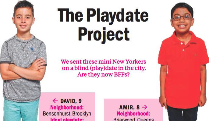 The Playdate Project: David and Amir