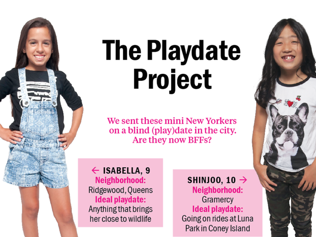 The Playdate Project: Isabella and Shinjoo