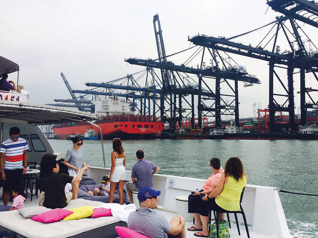 Container Port Tour