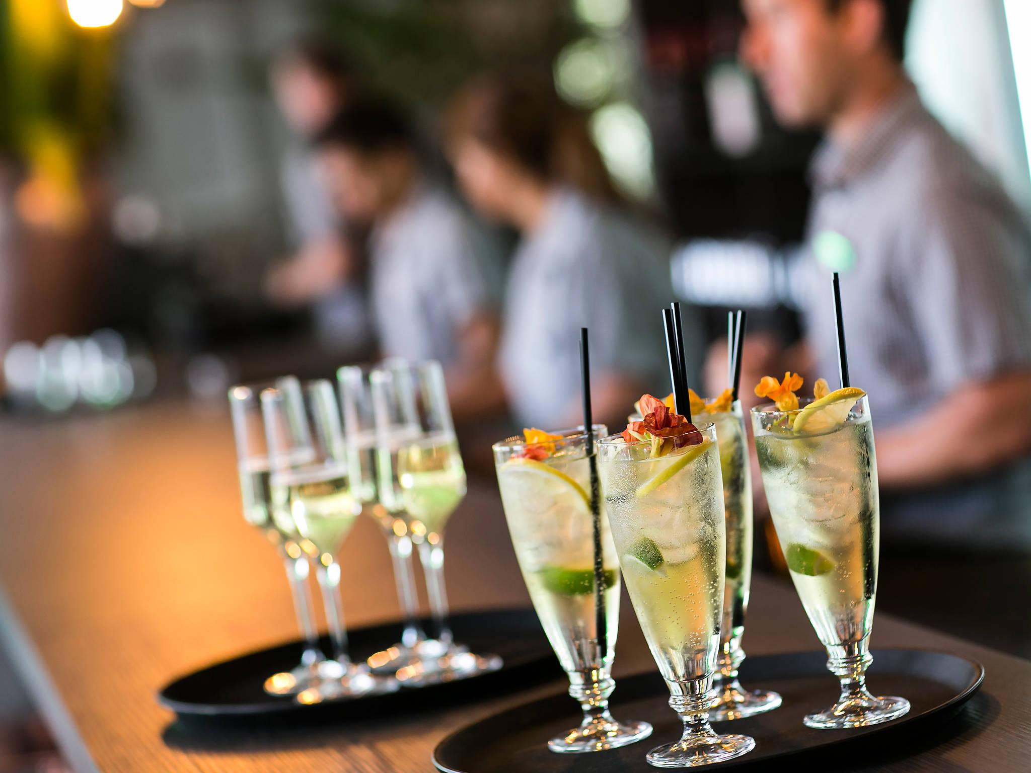 Bar at the Australian Open