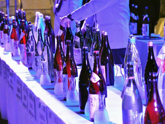 日本酒の会模様