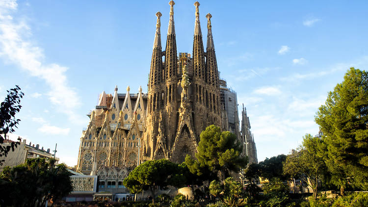Sagrada Familia façana naixement