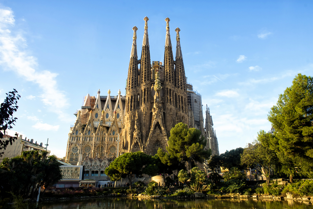 tourist attractions in Barcelona