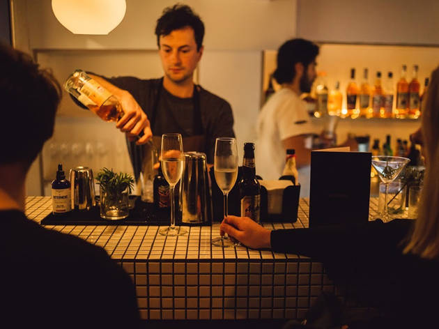 Best cocktail bars in London, Behind this Wall