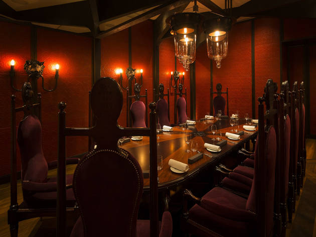 The best private dining rooms in London - heston blumenthal, Dinner