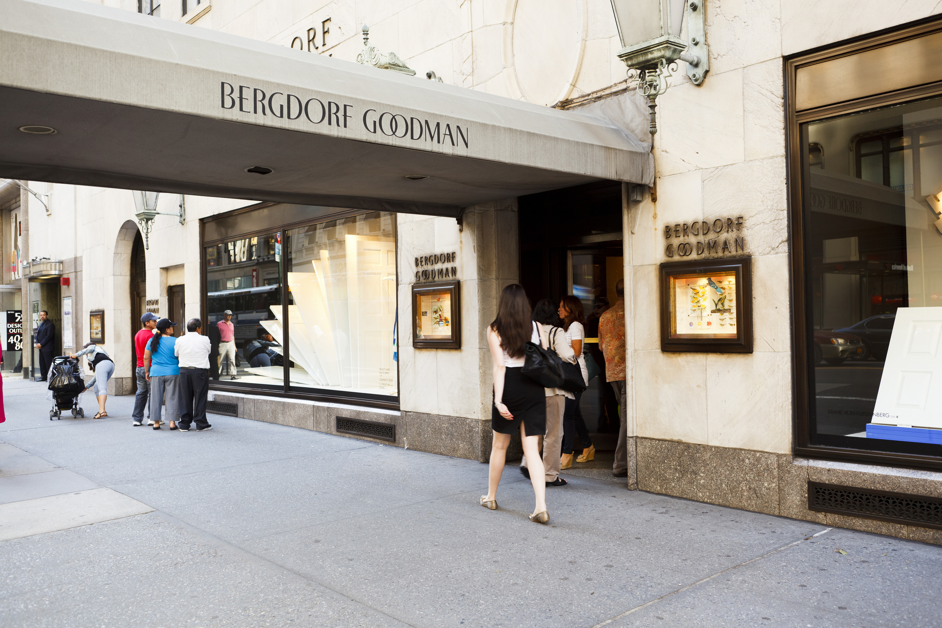 Bergdorf Goodman Shopping In Midtown West New York