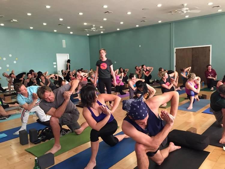 In Yoga Center