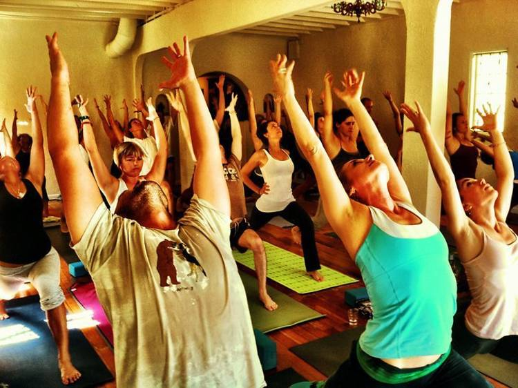 Yoga at the Raven