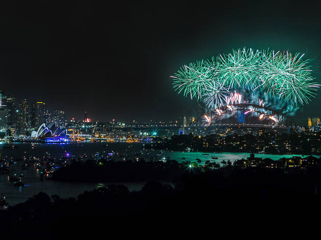 New Year's Eve at the Taronga Centre
