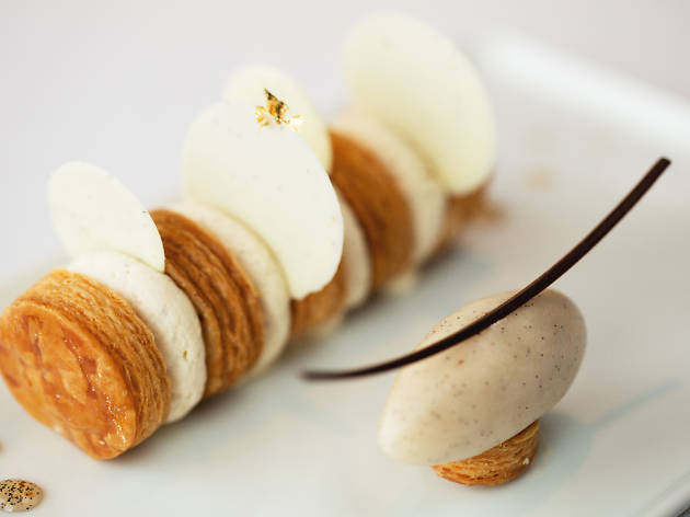 Two-star Michelin Caprice Pastry Chef Nicolas Lambert at Regent Singapore