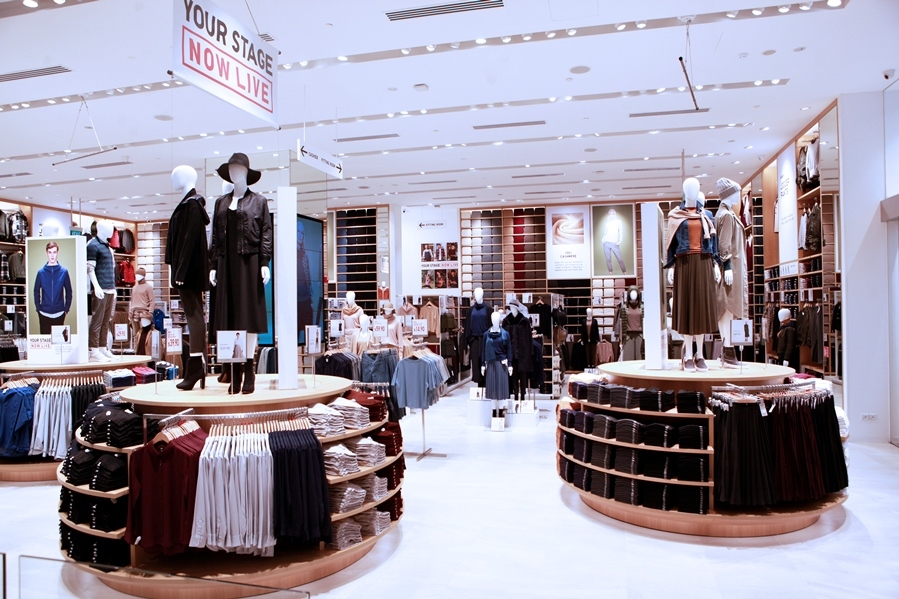 Now open: Uniqlo (Orchard Central)