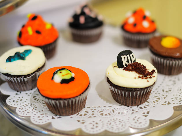 Halloween Styloween 'Mad Hatter's Tea Party' Cupcake Decorating Workshop