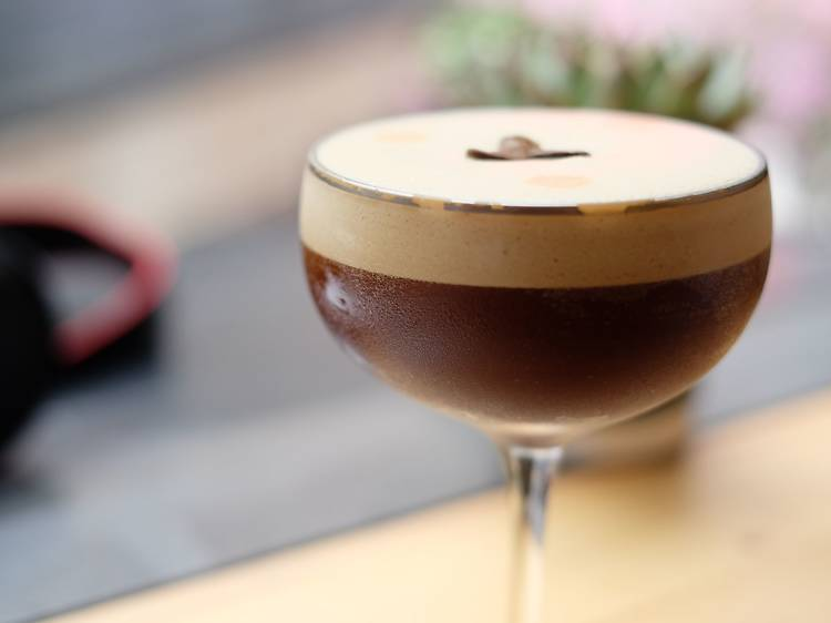 Espresso martini at Winstons Coffee