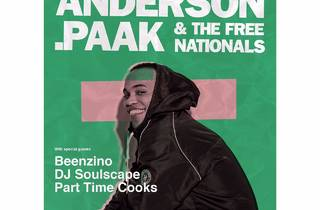 20/20 pres: Anderson .Paak & the Free Nationals
