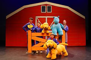 Performers and puppets of Spot the dog