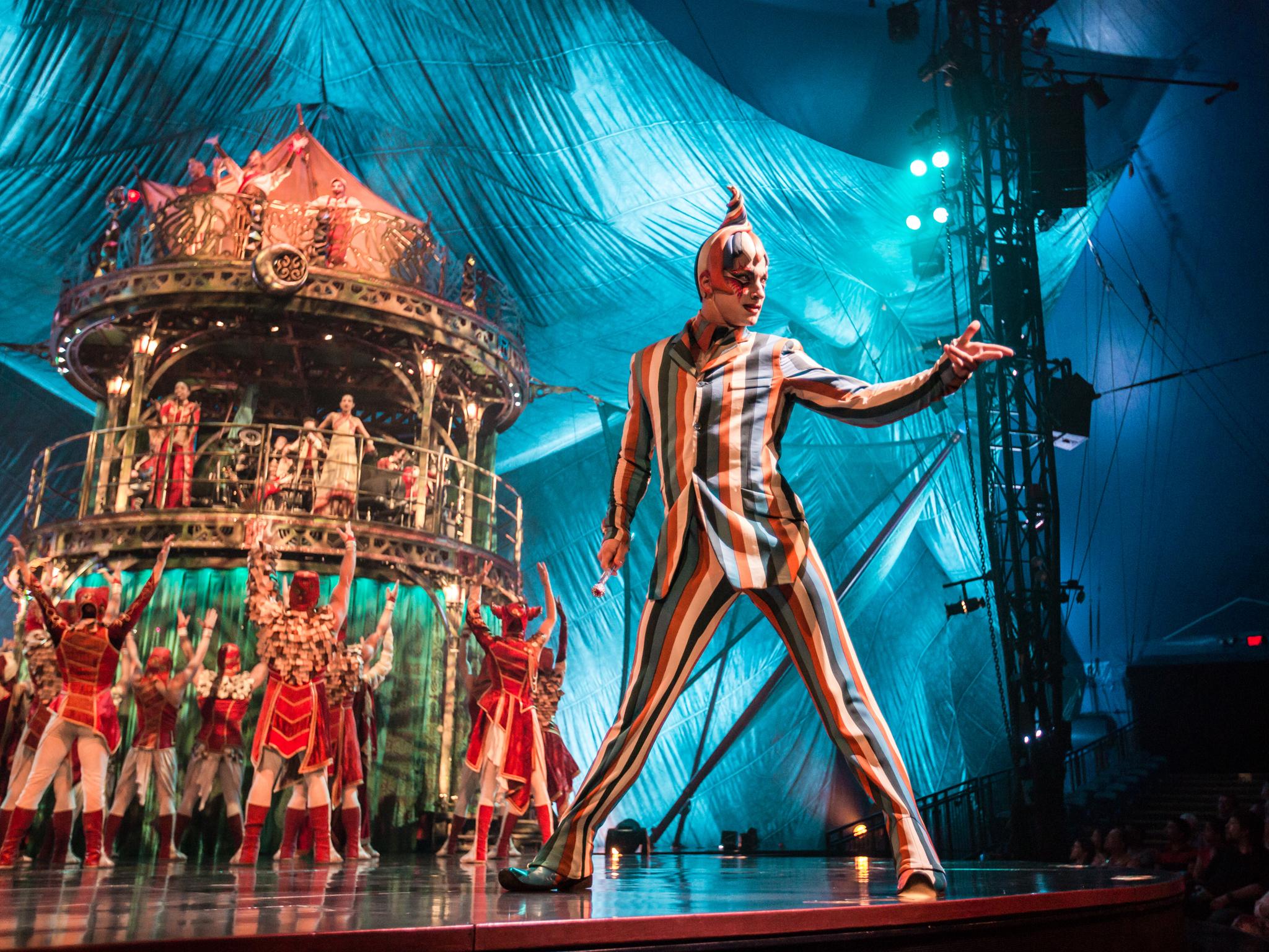 (Photograph: Matt Beard / © 2012 Cirque du Soleil)