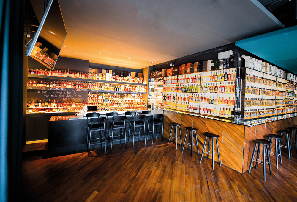 Best whisky bars in Singapore