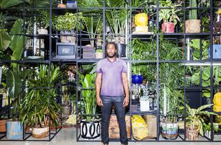 Artist Rashid Johnson's latest work ponders the limits of freedom