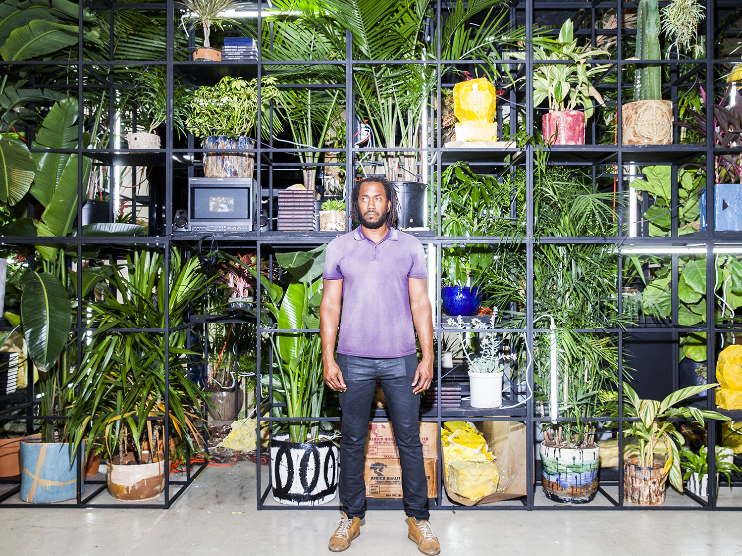 Artist Rashid Johnson ponders the limits of freedom