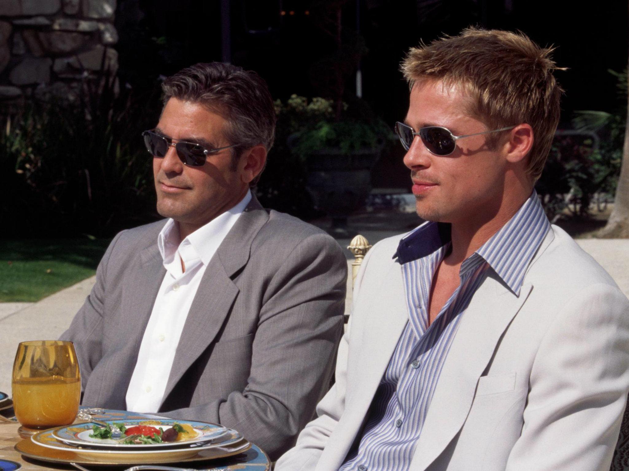 Ocean's Eleven con Brad Pitt